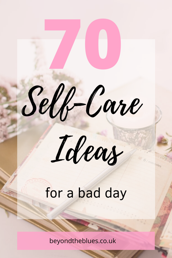 70 self-care ideas for a bday day pin