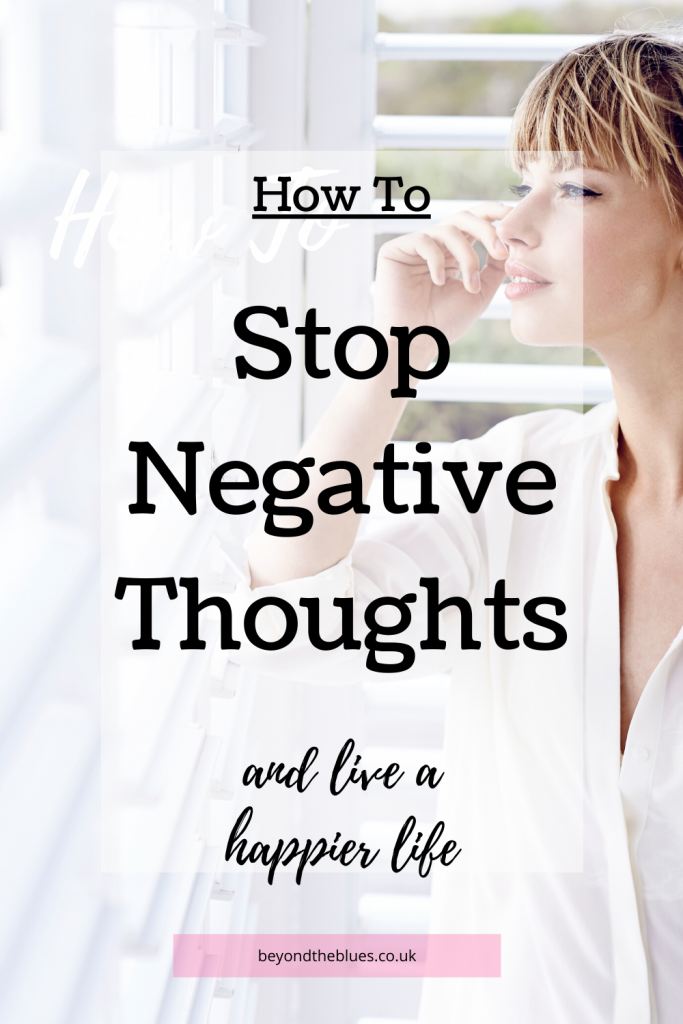 Learn how to stop negative thoughts and ruminating