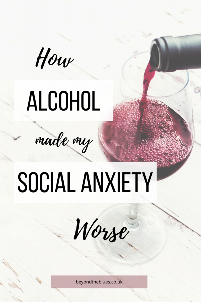 social anxiety and alcohol, using alcohol to cope with social anxiety
