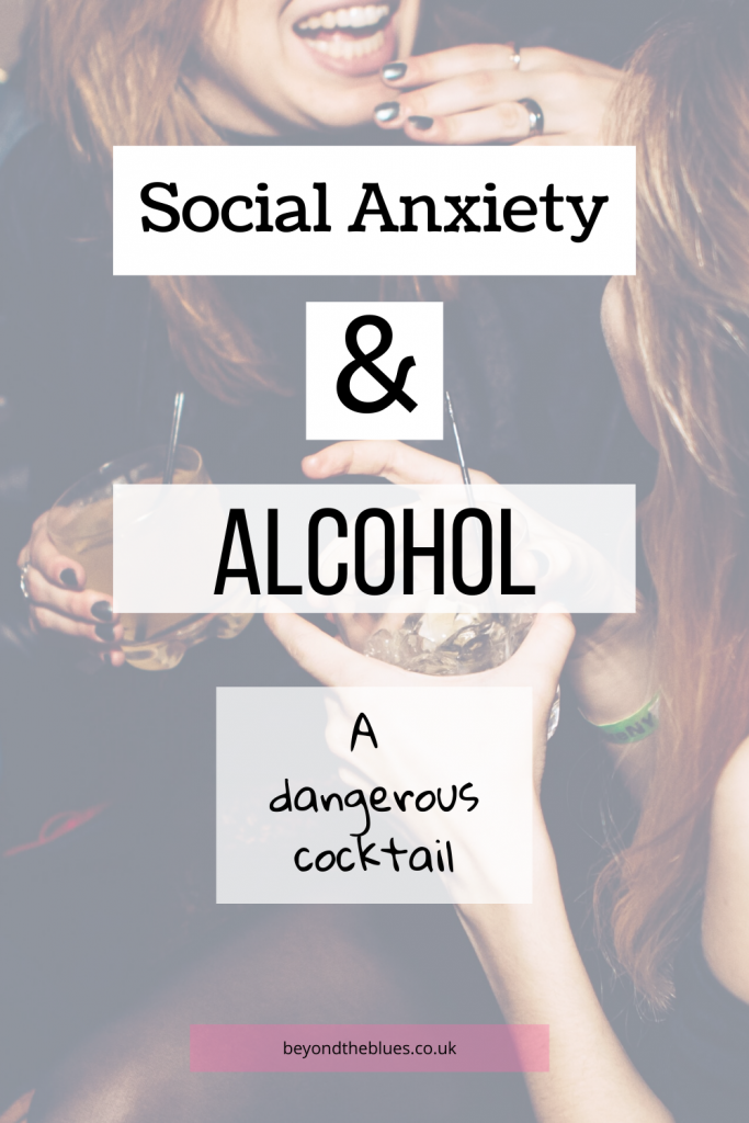 social anxiety alcohol, using alcohol to cope with social anxiety