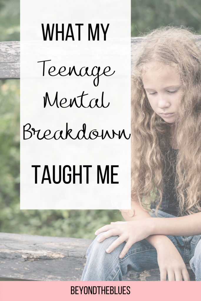 What I learnt from my first mental breakdown