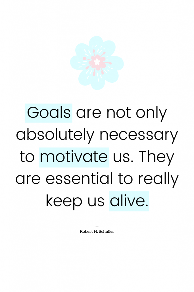 Inspirational quote for depression - goal setting #mentalhealth