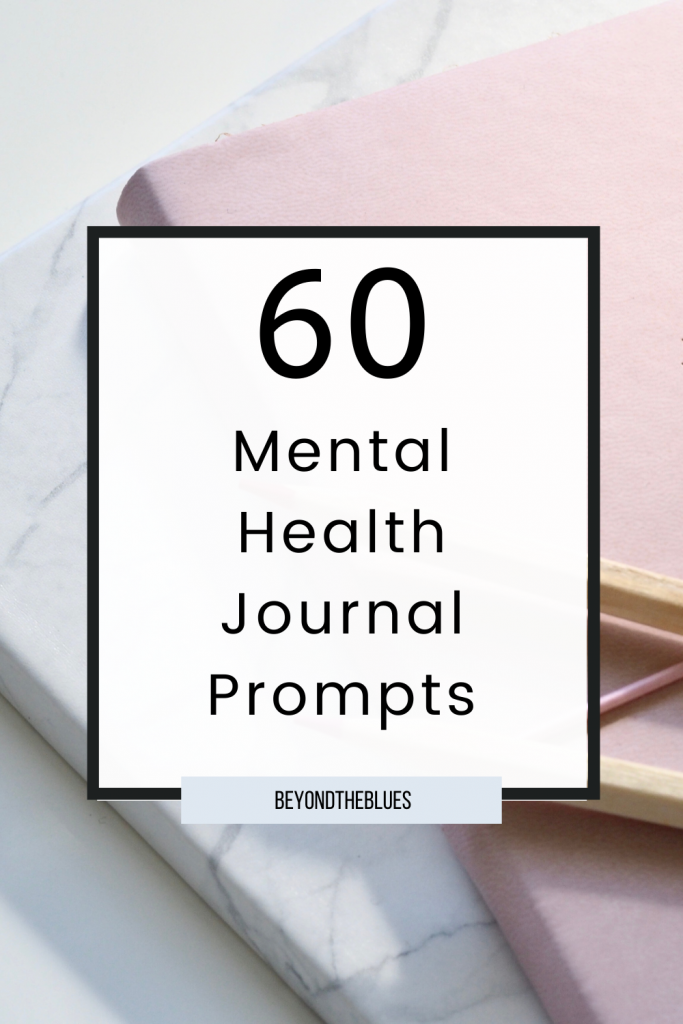 60 mental health journal prompts for self-discovery and self-love #depression #journaling