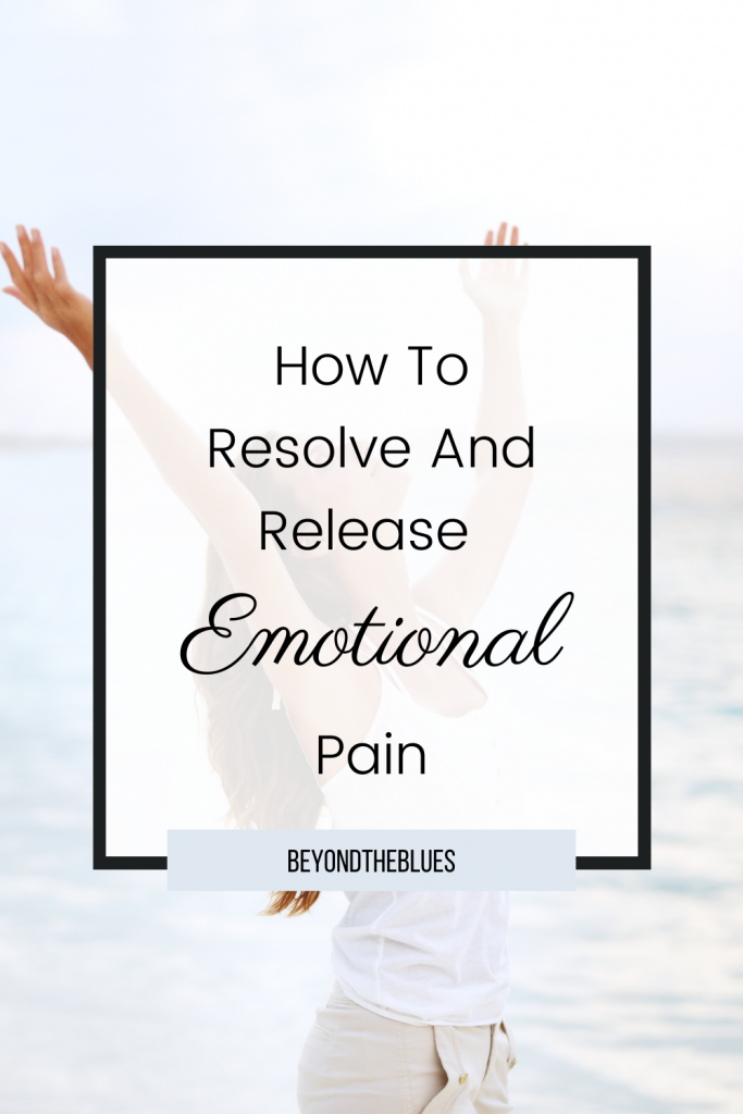 how to release emotional pain